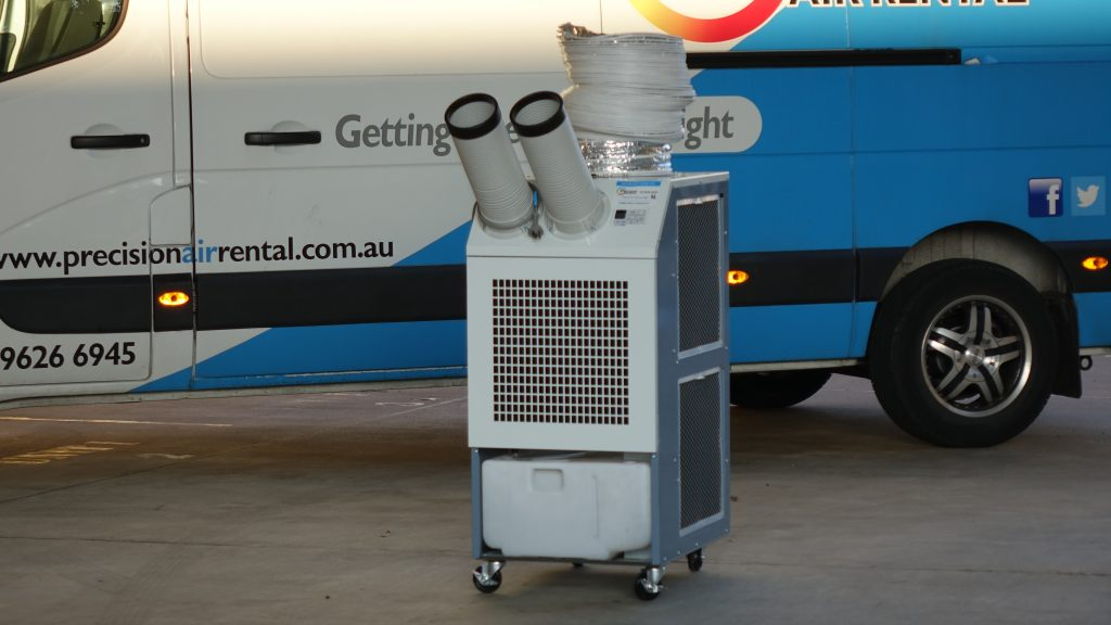 how much does it cost to rent a portable air conditioner
