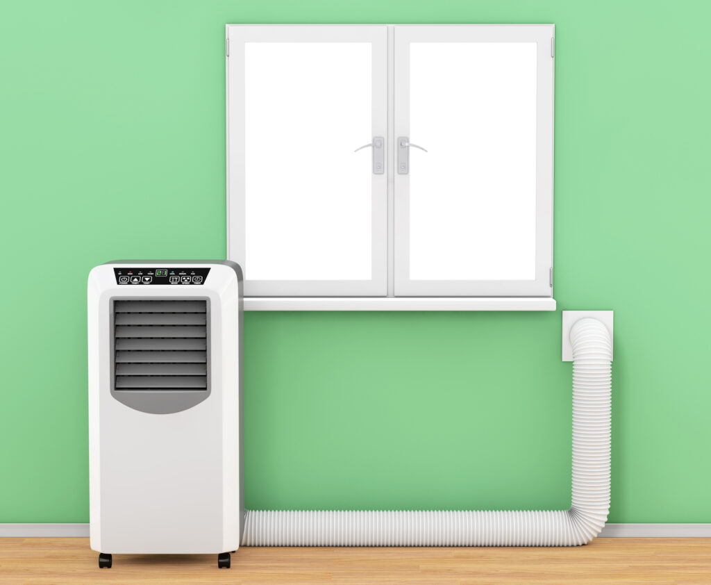 portable air conditioner venting