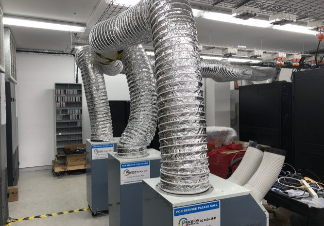 server room air conditioning hire